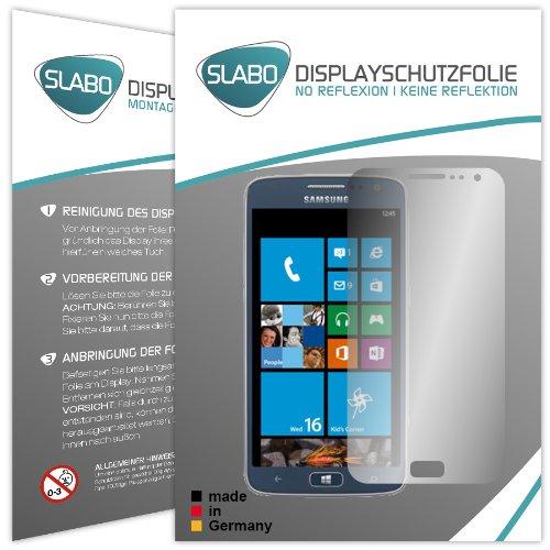 Slabo 2 x Bildschirmfolie für Samsung ATIV S Neo Bildschirmschutzfolie Zubehör No Reflexion MATT