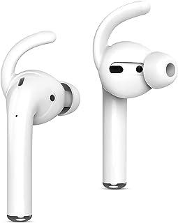 Amial Europe - Oorkussens compatibel met AirPods 1 & 2 (2 paar) EarPods [ear haken anti-val siliconen voor hoofdtelefoon]...