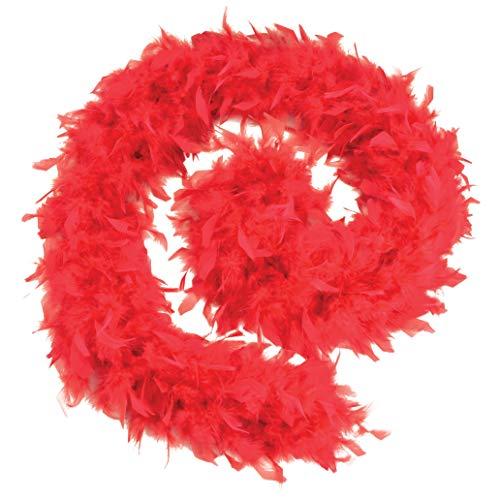 Bristol Novelty - Boa de plumas de precio económico para disfraz (Tamaño Único) (Rojo)