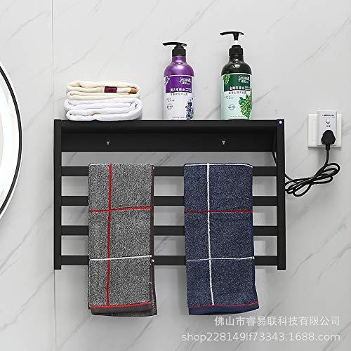 MJJ Handtuchheizkörper Haushalt trocknen Elektrischer Handtuchhalter heizkörper Minimalistisch Modern Badheizkörper Wäscheständer Platzsparende Heizkörper für Zentralheizungen Perfekt für Badezimmer