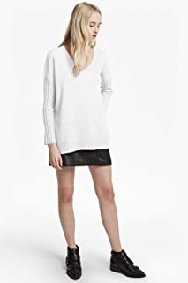 French Connection Women's Babysoft Long Sleeve Soft Solid Pullover Sweater,