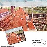1art1 Vincent Van Gogh, Dächer, Blick Vom Atelier des
