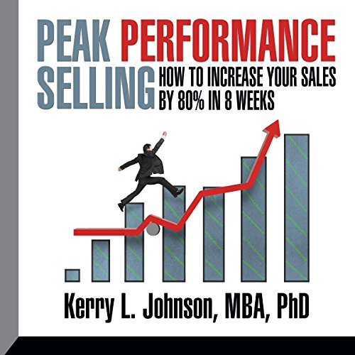 Peak Performance Selling audiobook cover art