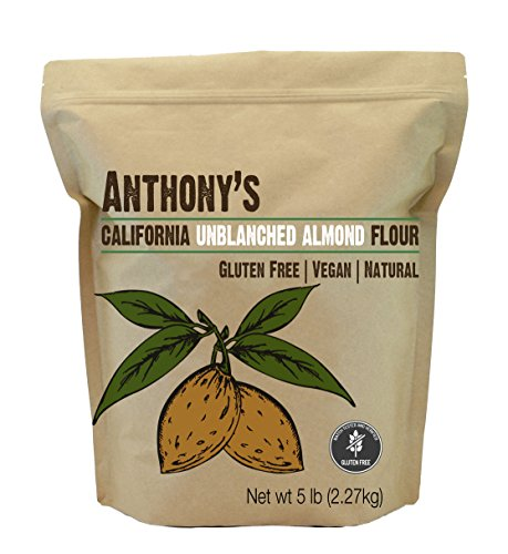 Anthony's Natural Almond Flour (Unblanched) (5lb)