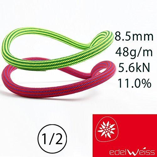 edelweiss Lithuium II Supereverdry エーデルワイス リチウムII スーパーエバードライ 8.5mm 50m レッド...