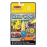 Melissa & Doug- Water Wow Hehículos Bloc Revelador para Colorear con Agua, Multicolor (15375)
