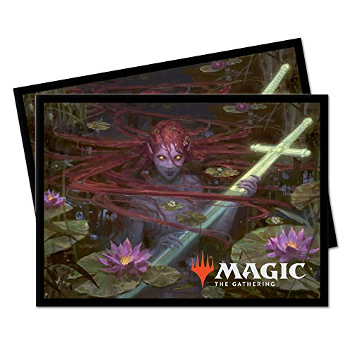 Magic: The Gathering Throne of Eldraine Emry, Lurker of The Loch Deck Protector Sleeves (100 ct.)