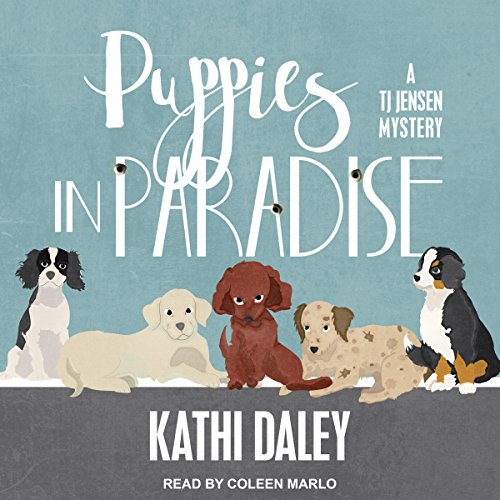 Puppies in Paradise audiobook cover art