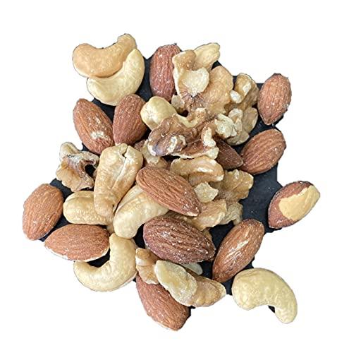 素焼き 3種のミックスナッツ  人気 アーモンド くるみ カシューナッツ 無塩タイプ ミックスナッツ ナッツ nuts 3種類 おつまみ チャック袋 ((素焼き3種のミックス 500g))