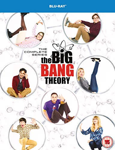 Cover The Big Bang Theory: The Complete Series [Blu-ray] [2007] [2019] [Region Free]