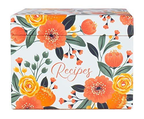 Cute Recipe Box with Cards and D...