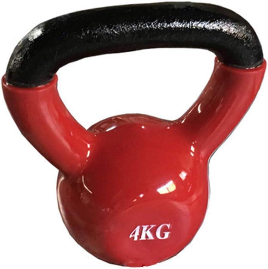 LINGJIE Oklahoma City Mall 2kg Kettlebell - Heavy Long Beach Mall Weight Bell a Strength Kettle for