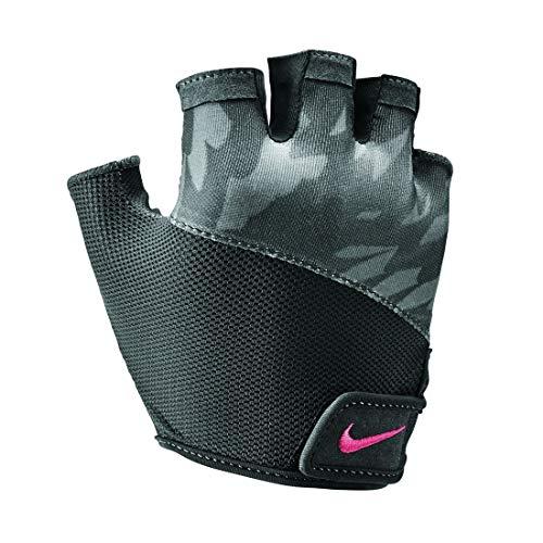 Nike Damen Womens Printed Gym Elemental Fitness Glove 970 gunsmoke/anthracite/r Handschuhe, Small