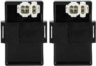 KIMISS CDI Zündmodul, CDI Dual Igniter Fit für XL 600 V Transalp MS8 1989 1996