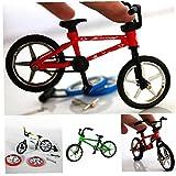 Dedo Aleación Juguete Funcional para Niños Bike Mini-Finger-BMX Set Bike Fans Toy Regalo