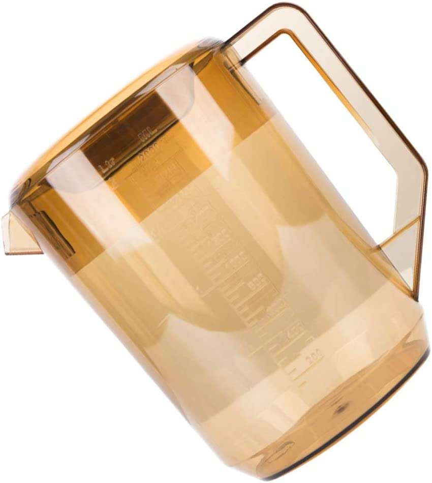 Cabilock Large Plastic Pitcher with Lid Cold Max 59% OFF Be super welcome Hot Heat Resistant
