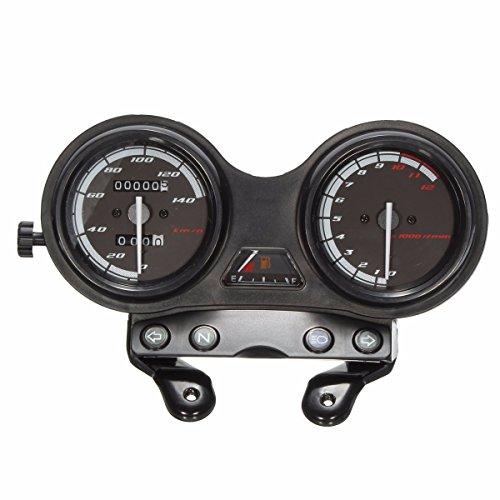 Diskooker DC 12 V Motocicleta Motocicleta Completo Reloj velocímetro para Yamaha YBR 125