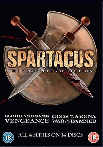 Spartacus: The Complete Collection - 14-DVD Boxset ( Spartacus: Blood and Sand / Gods Of The Arena / Vengeance / War of the Damned ) [ UK Import ]