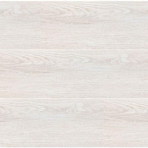 SINTESI Porzellan Emaille Holzoptik weiß Essenzen 20 x 80