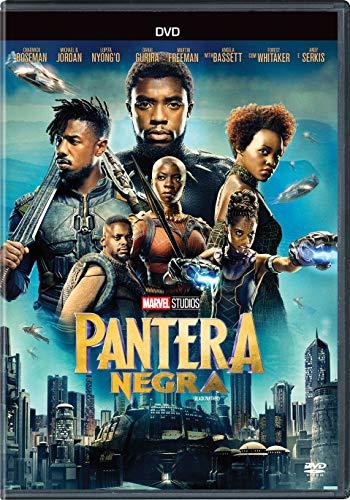 Pantera Negra DVD Chadwick Boseman