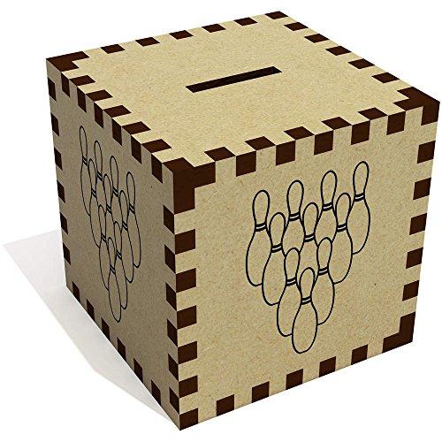 Azeeda 'Bowling Kegel' Sparbüchse / Spardose (MB00007740)