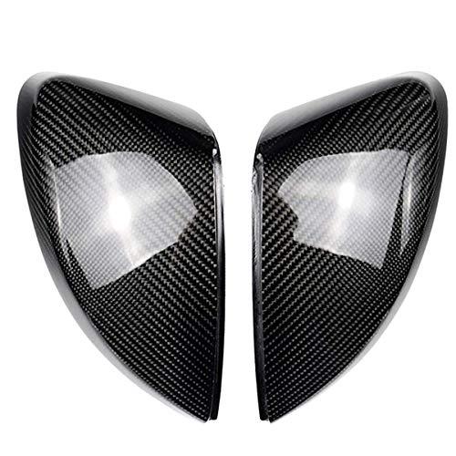 WOVELOT 1 Paio di Coperture Specchietti Laterali per Auto per A3 S3 8V Rs3 Protezioni Specchietti Laterali (Carbonio) 2017 Sostituire 2013 2014 2015 2016 2017 2018 2018 2019