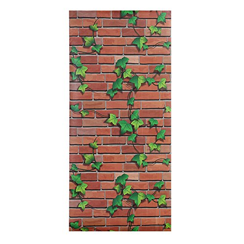 """Whitelotouse Decorative Removable Mural DIY Wall Stickers for Living Room Hallway Sofa Backdrop TV Wall Background 17.71 x 39.37"""" (Boston Ivy)"""