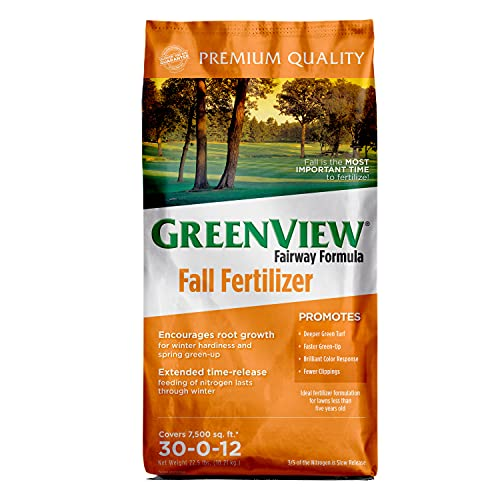 Greenview 2129858 Fairway Formula Fall Fertilizer - 22.5 lb - Covers 7,500...
