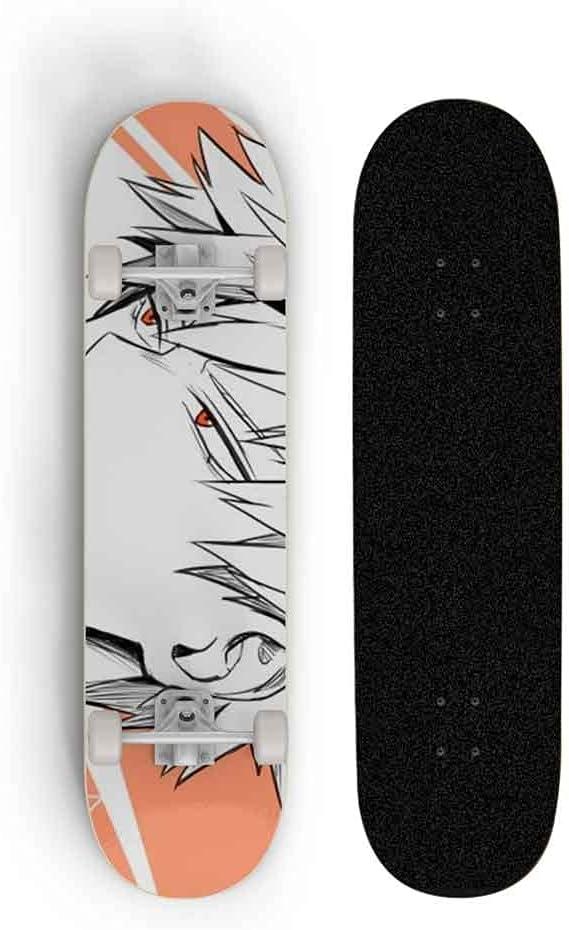 Skjfdmiy 7-Layer Maple Wood Longboard Cartoon OFFicial shop Slide Price reduction Skateb Plate