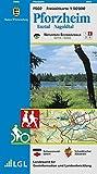 Pforzheim, Enztal, Nagoldtal: Karte des Schwäbischen Albvereins und des Schwarzwaldvereins (Naturpark Schwarzwald Mitte, Nord 1:50000, Band 2)