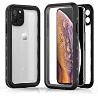 Shellbox Rugged Full Body Waterproof Protection iPhone 11 Pro Max Case with Built-in Screen Protector