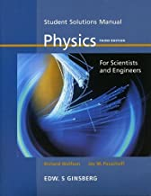 By Richard Wolfson Student Solutions Manual: Physics for Scientists and Engineers [Paperback]