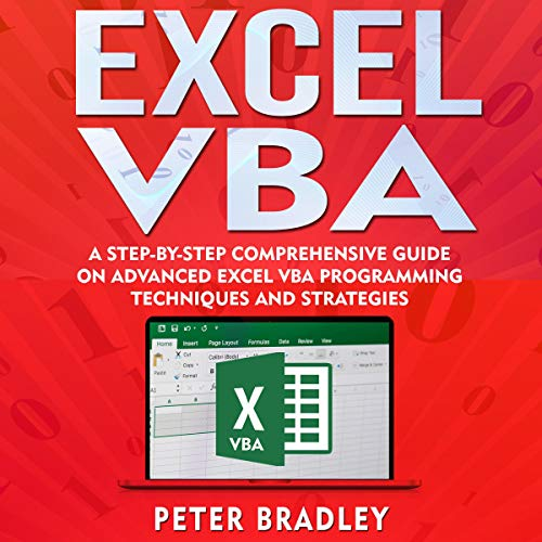 Excel VBA audiobook cover art