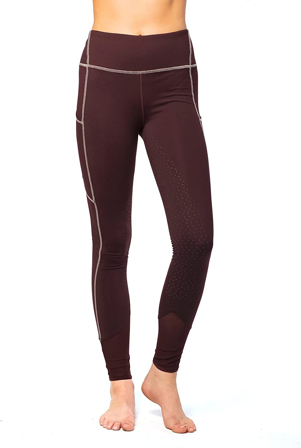 Goode Rider Full Seat M Recommended Shaper Finally resale start Burgundy Tights