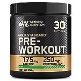 Optimum Nutrition Gold Standard Pre Workout en Polvo, Bebida Energética con Creatina Monohidratada, Beta Alanina, Cafeína y Vitamina B Complex, Kiwi, 30 Porciones, 330g