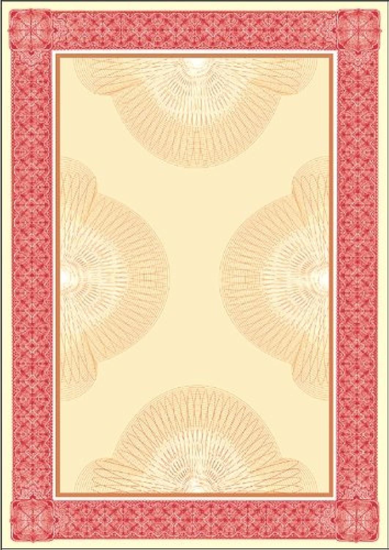 Sigel DP487 Motiv-Papier, Wertpapier rot, Edelkarton 185 g, DIN A4, 20 Blatt B000WL8SHE  | Creative