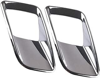 per Volvo XC40 2017-2019 WYYYFA Accessori per Lo Styling dellauto della Copertura della Decorazione della Presa dAria della Parte Anteriore dellauto in Fibra di Carbonio ABS