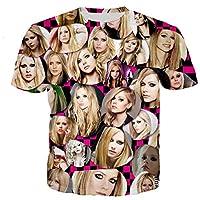 AVRIL Tシャツメンズ/女性3DプリントTシャツカジュアル原宿スタイルTシャツストリートウェアトップスドロップシッピング