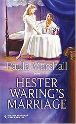 Hester Waring's Marriage: Paula Marshall