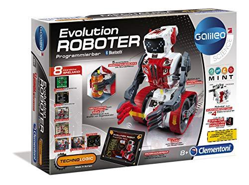 Clementoni 59031 Galileo Science – Evolution Roboter, Robotik für kleine Ingenieure, Einstieg in die Elektronik, High-Tech für Schulkinder, Spielzeug für Kinder ab 8 Jahren