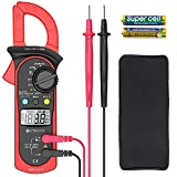 Etekcity MSR-C600 Digital Clamp Meter, Auto-Ranging Multimeter with Voltage, AC Current, Diode and Resistance Test