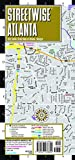 Streetwise Atlanta Map: Laminated City Center Map of Atlanta, Georgia (Michelin Streetwise Maps)