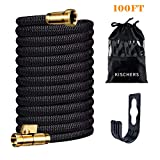 Best Expanding Garden Hoses - KISCHERS Expanding Garden Hose 100 ft Anti-Burst Expandable Review
