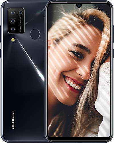 DOOGEE N20 Pro Móviles Libres, 4G Android 10 6GB+128GB Smar