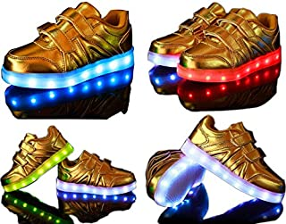 TEC VENTURES Rechargeable LED Light Party Shoes Kids Boys and Girls