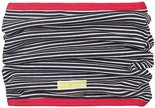loud + proud dwustronny szal z bawełny ekologicznej, unisex, z certyfikatem Gots