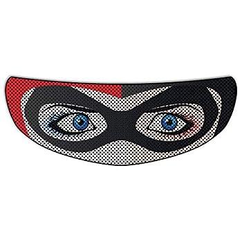 Harley Quinn Universal Full Face Motorcycle Helmet Windscreen Graphic Visor Tint Shield Sticker Decal