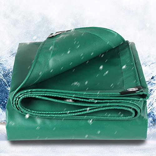 ZXHQ Lona Impermeable con Ojales 4x8m, Pesado Lonas Impermeables Durable ProteccióN FríO Anti Envejecimiento para Barco Carpa del Piscina