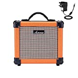 Asmuse Guitar Amplifier 10W Handle Portable Amp for Electric Guitar Combo Speaker