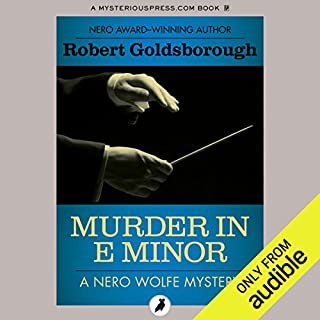 Murder in E Minor cover art